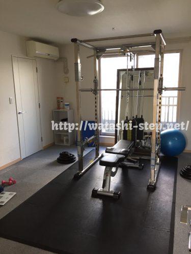 一つ目のトレーニングルーム