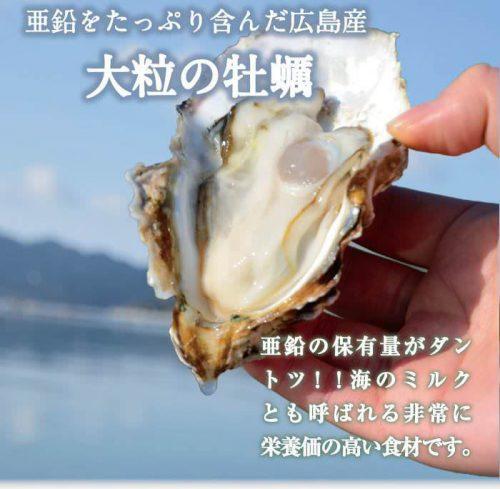 肝パワーE+に配合されている広島産の牡蠣